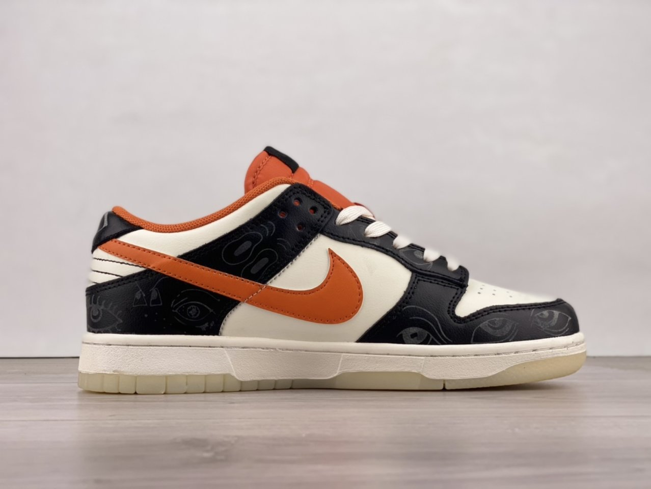 2021 Nike Dunk Low PRM Halloween Skateboard Shoes DD3357-100 Sell