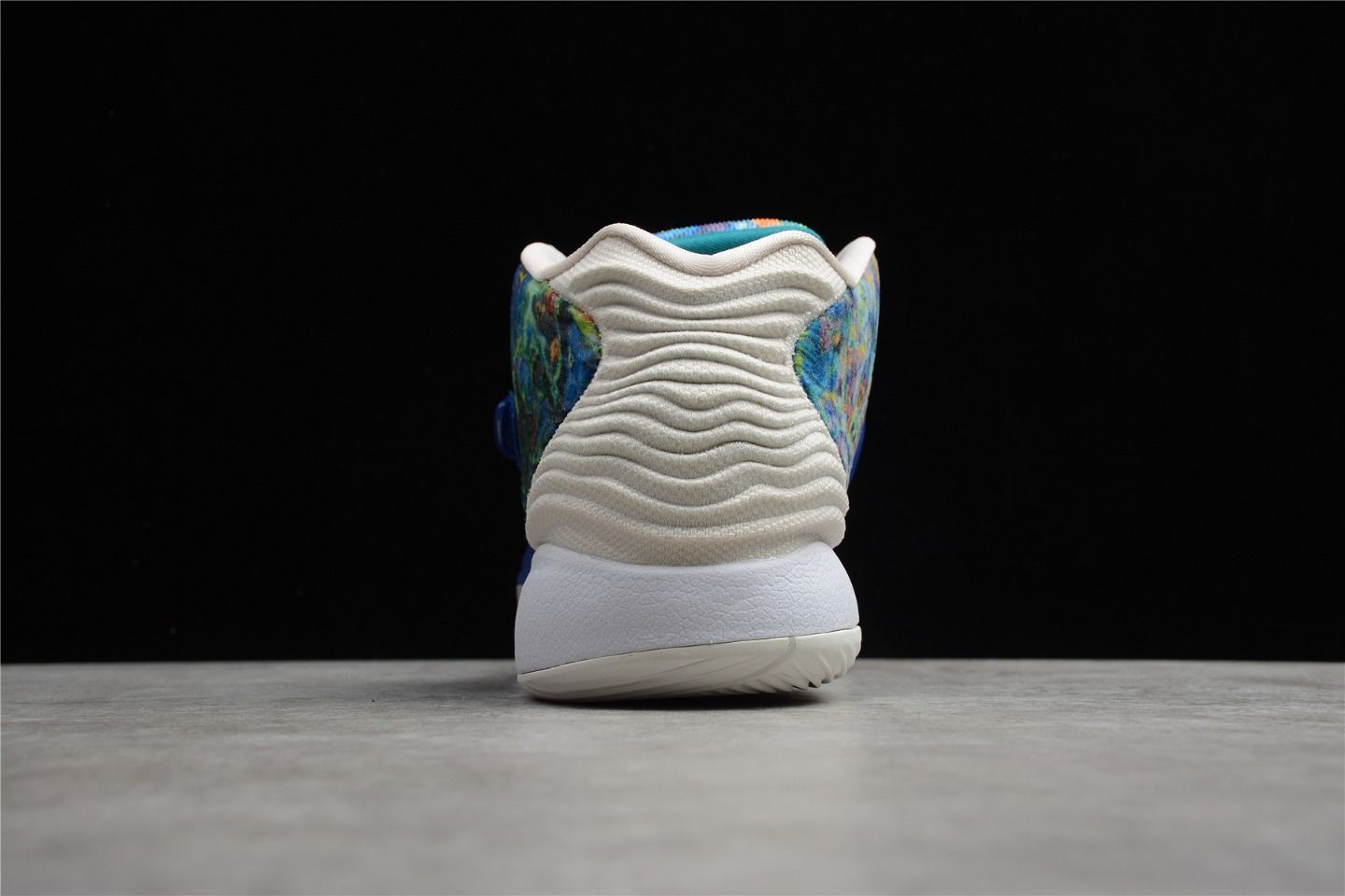2021 Nike KD 14 EP Psychedelic Fashion Running Shoes CZ0170-400 Behind
