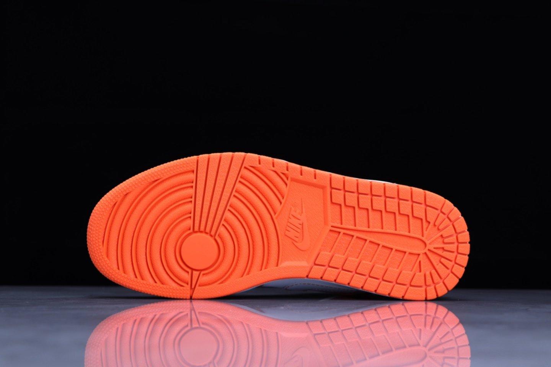 Best-selling Air Jordan 1 Mid Electro Orange Basketball Shoes DM3531-800 Sole