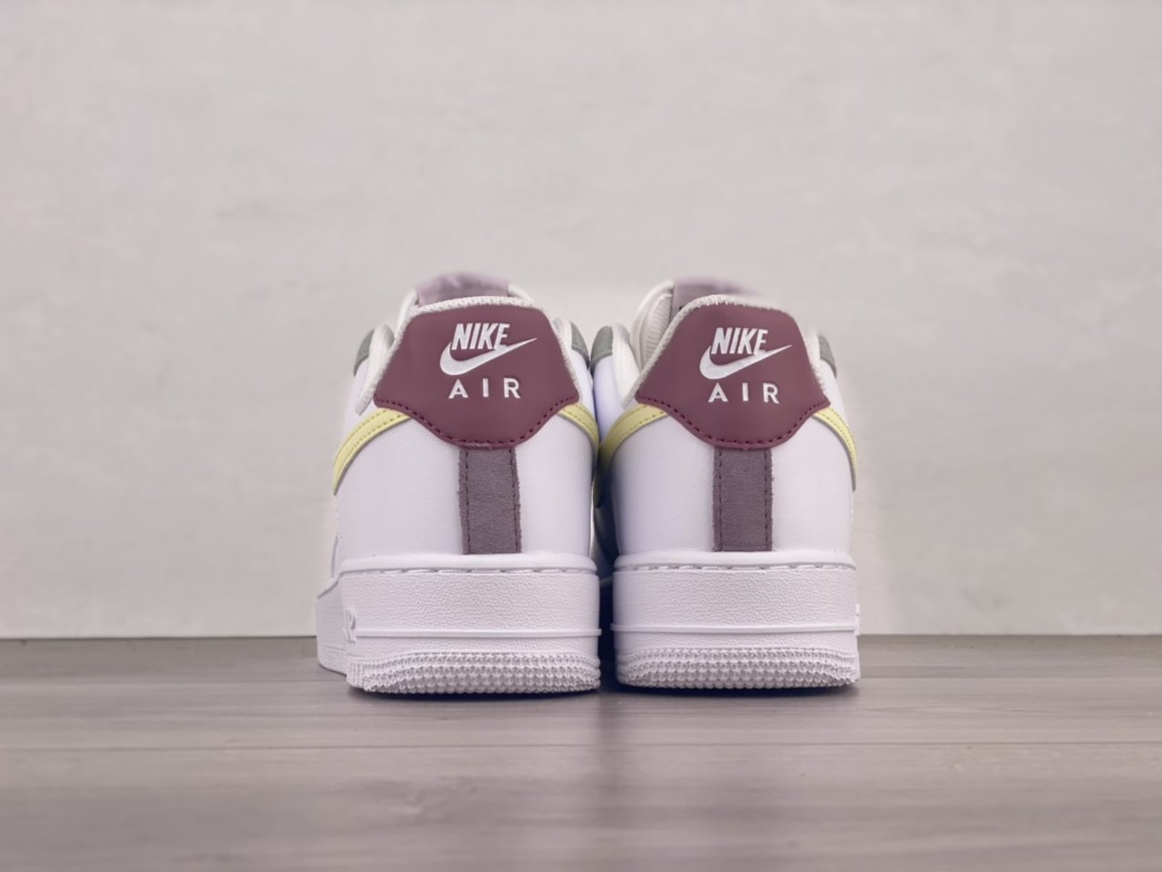 Cheap Nike Air Force 1 Low Muted Pastels White Pink DN4930-100 Back heel
