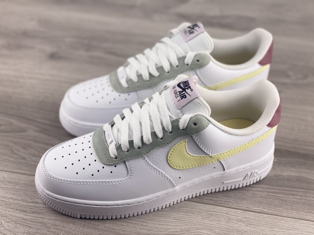 Cheap Nike Air Force 1 Low Muted Pastels White Pink DN4930-100 overall