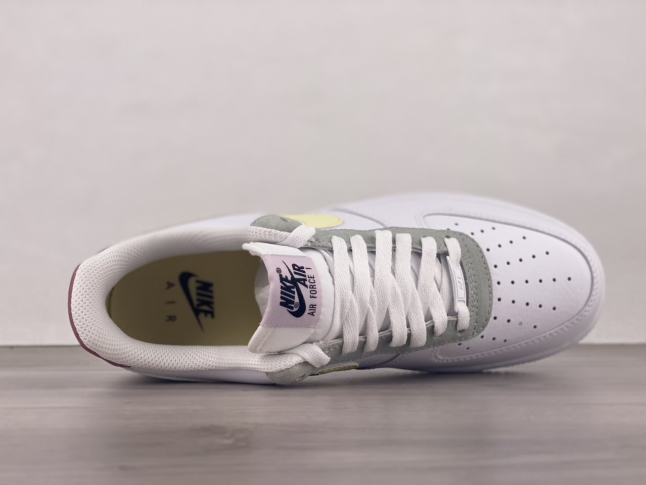 Cheap Nike Air Force 1 Low Muted Pastels White Pink DN4930-100 shoelace