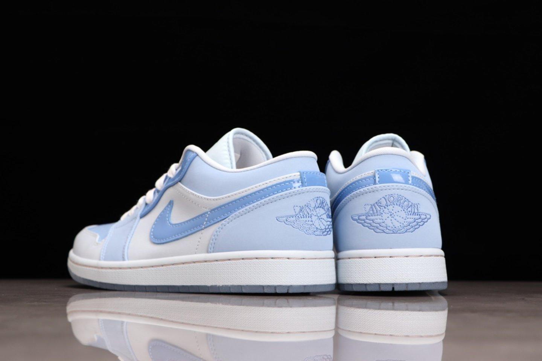 "Hot Sale Air Jordan 1 Low ""Mighty Swooshers"" Basketball Shoes DM5442-040 Behind"