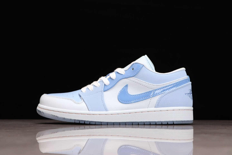"Hot Sale Air Jordan 1 Low ""Mighty Swooshers"" Basketball Shoes DM5442-040"