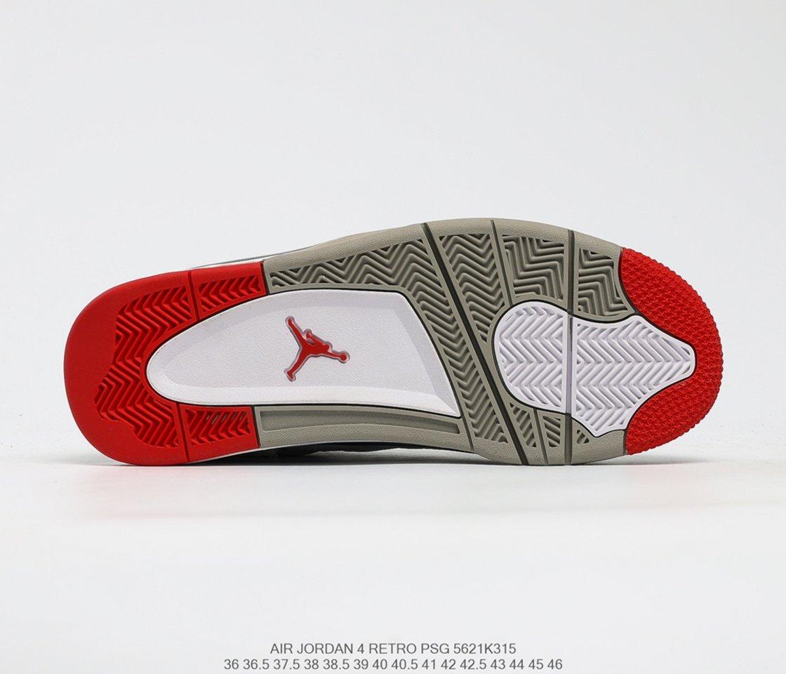 Hot Sale Air Jordan 4 Retro SE What The 4 Basketball Shoes CI1184-146 Sole