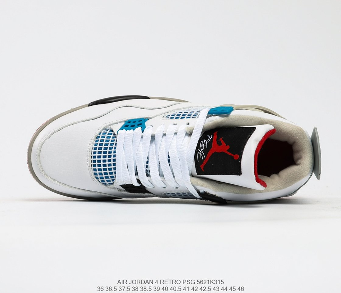 Hot Sale Air Jordan 4 Retro SE What The 4 Basketball Shoes CI1184-146 shoelace