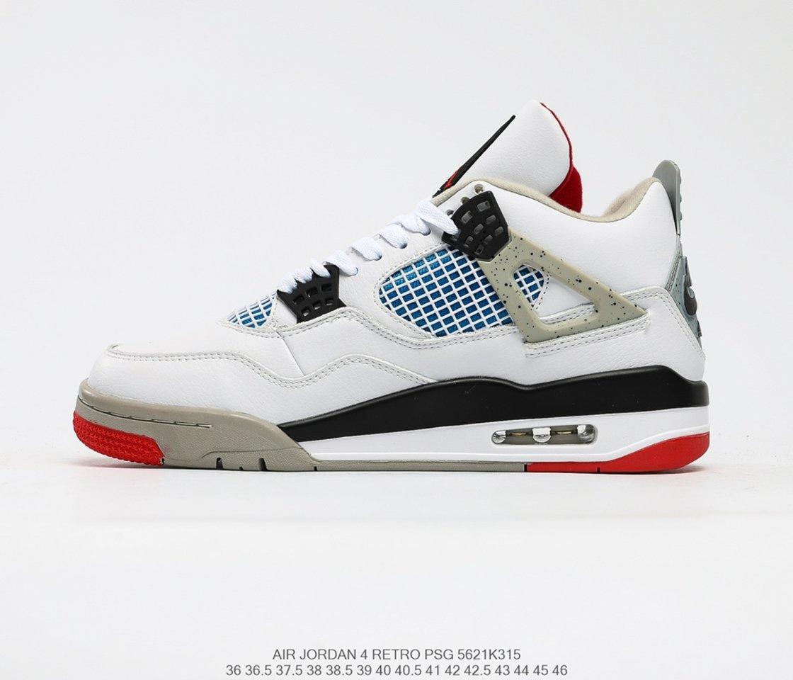 Hot Sale Air Jordan 4 Retro SE What The 4 Basketball Shoes CI1184-146 side