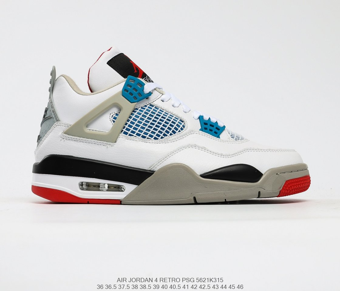 Hot Sale Air Jordan 4 Retro SE What The 4 Basketball Shoes CI1184-146