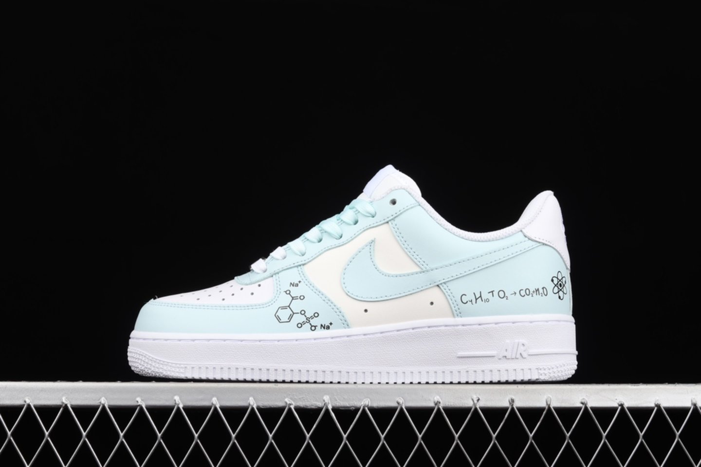 New Arrival Nike Air Force 1 Low 07 Beige White Light Green Sale CW2288-303