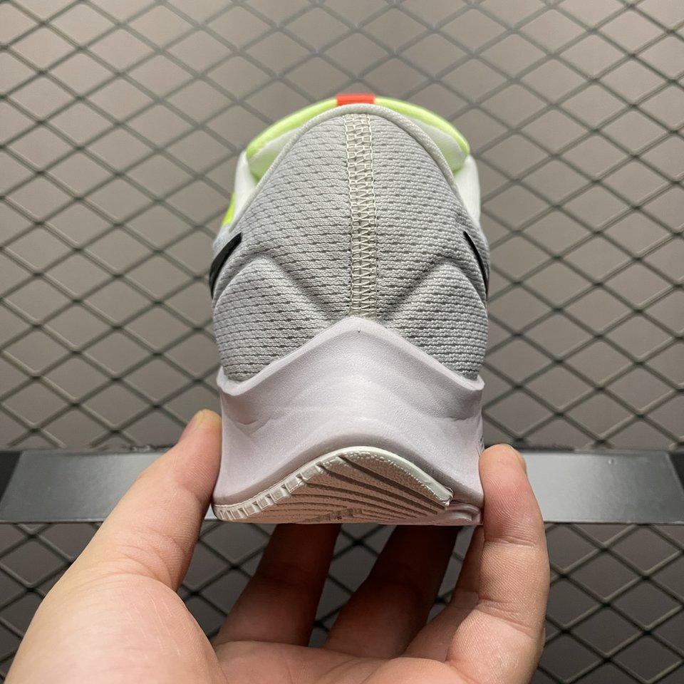 Nike Air Zoom Pegasus 38 Volt White Yellow Running Shoes DA6678-700 Behind