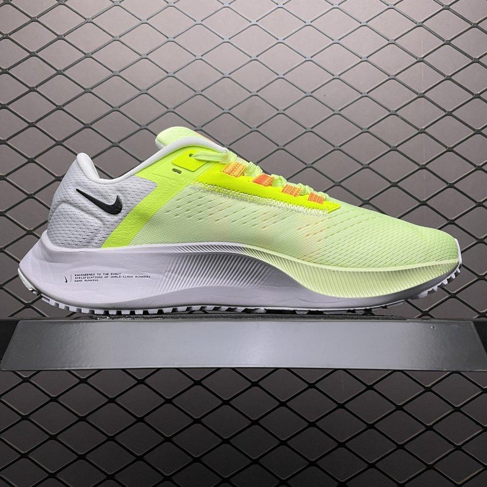 Nike Air Zoom Pegasus 38 Volt White Yellow Running Shoes DA6678-700 Inside