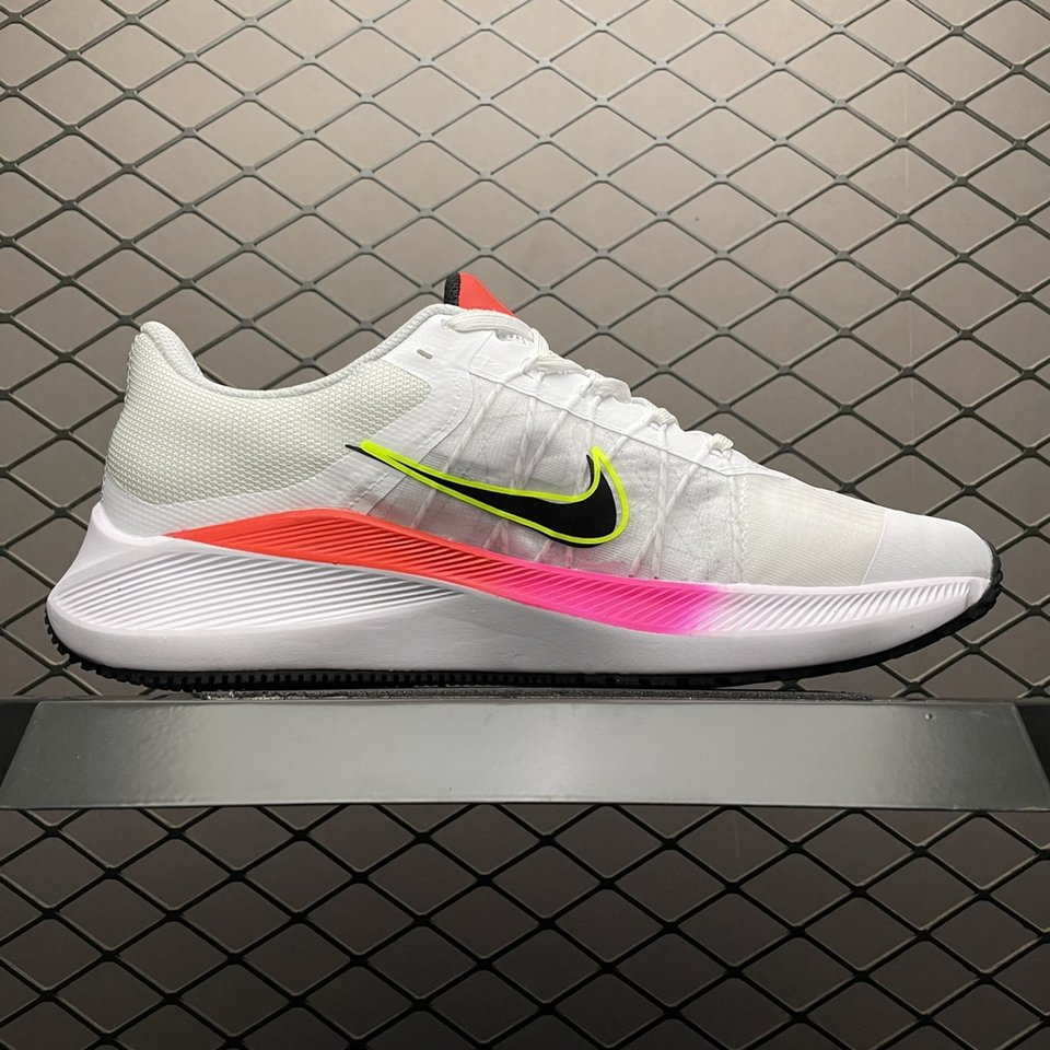 Nike Air Zoom Winflo 8 WhiteRunning Shoes CW3419-100 Inside