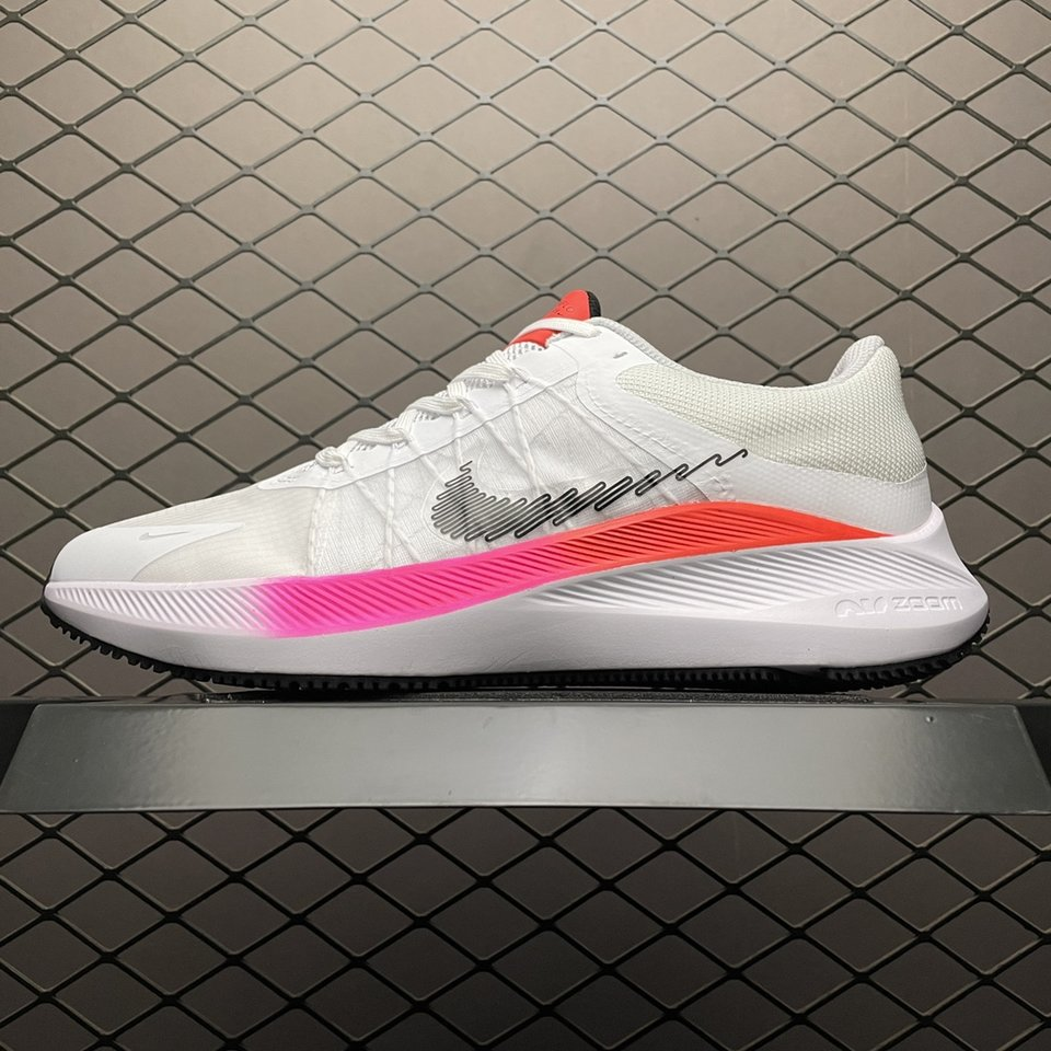 Nike Air Zoom Winflo 8 WhiteRunning Shoes CW3419-100